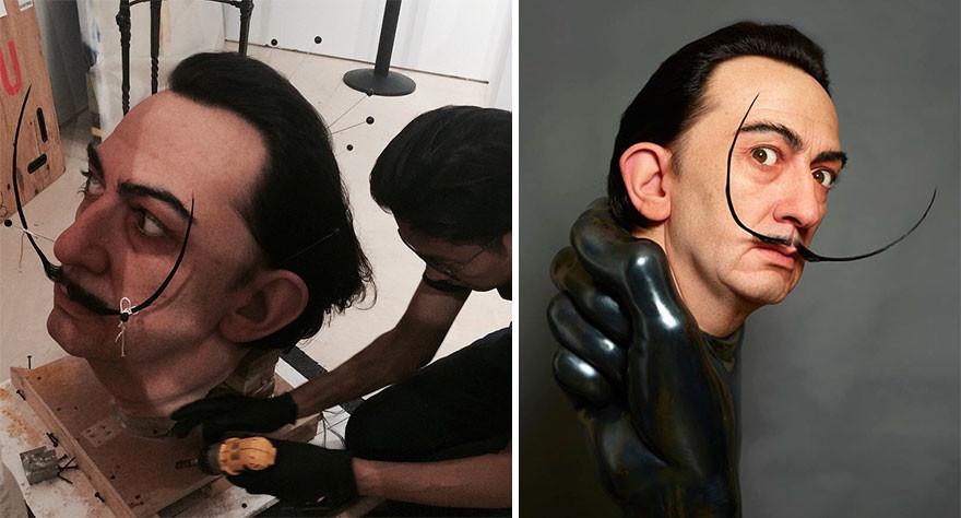 Невероятно реалистичные работы от японского скульптора