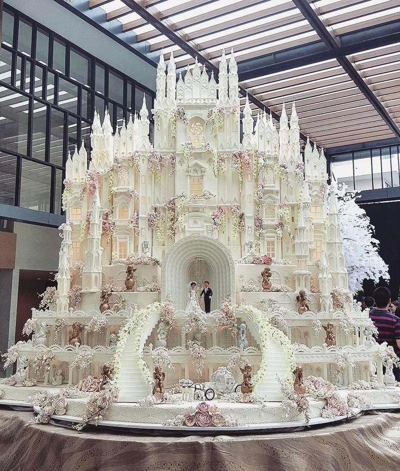 Невероятные свадебные торты от кондитерской Le Novelle Cake