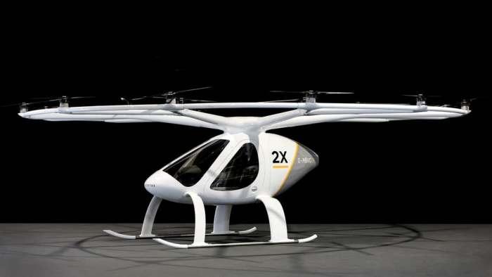 Первое в мире летающее такси будет запущено в Дубае