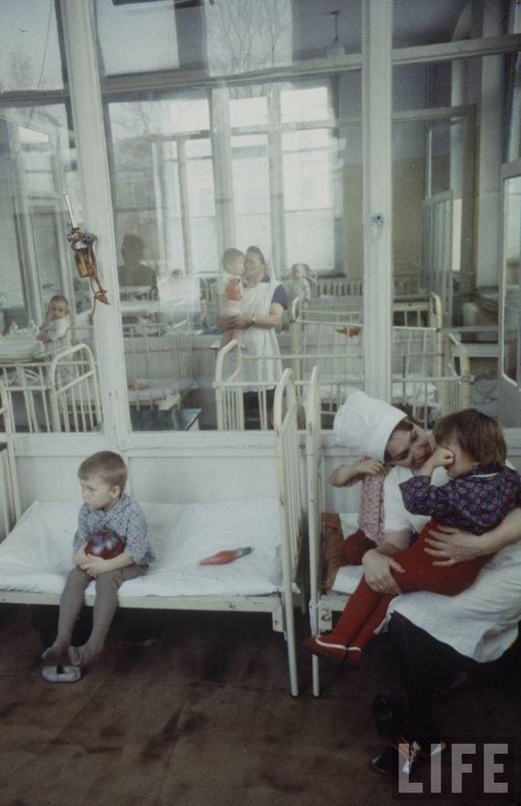 Советская медицина на страницах журнала LIFE