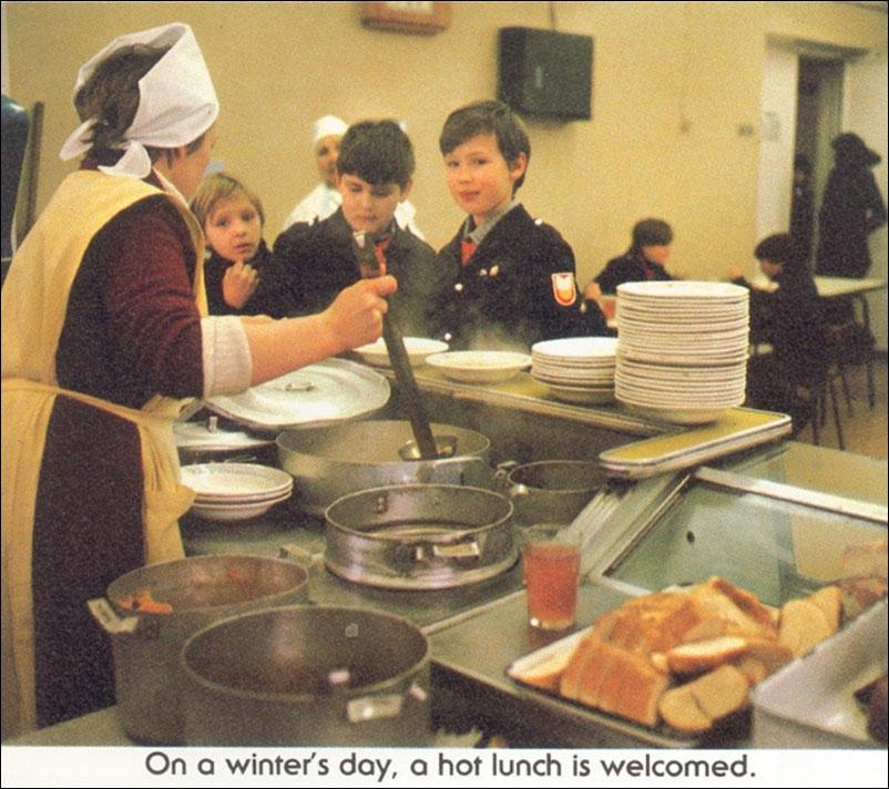 Жизнь обычной школьницы в далеком 1987 году