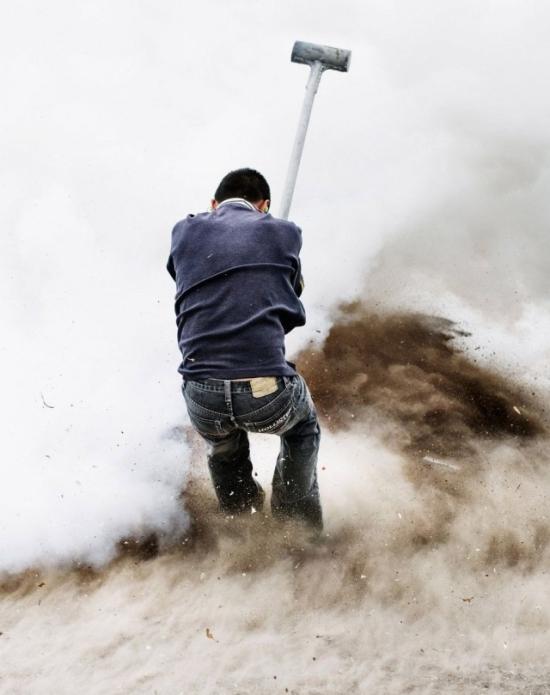 Фестиваль взрывных кувалд в Мексике