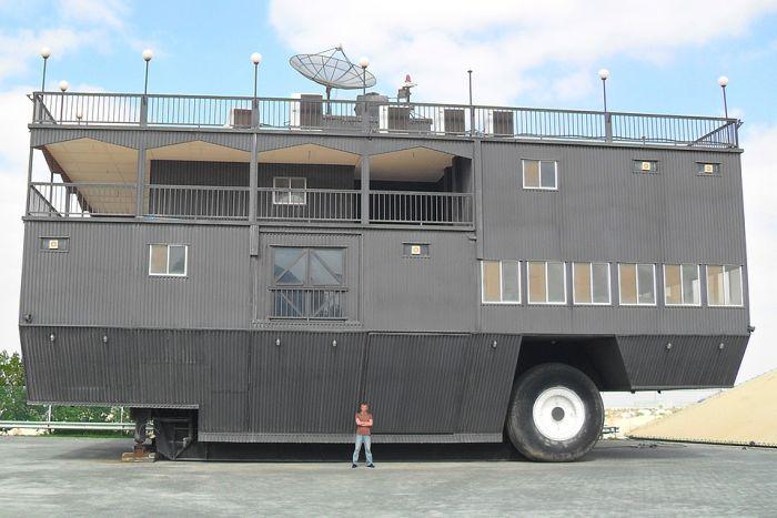 Самые большие в мире дома на колесах