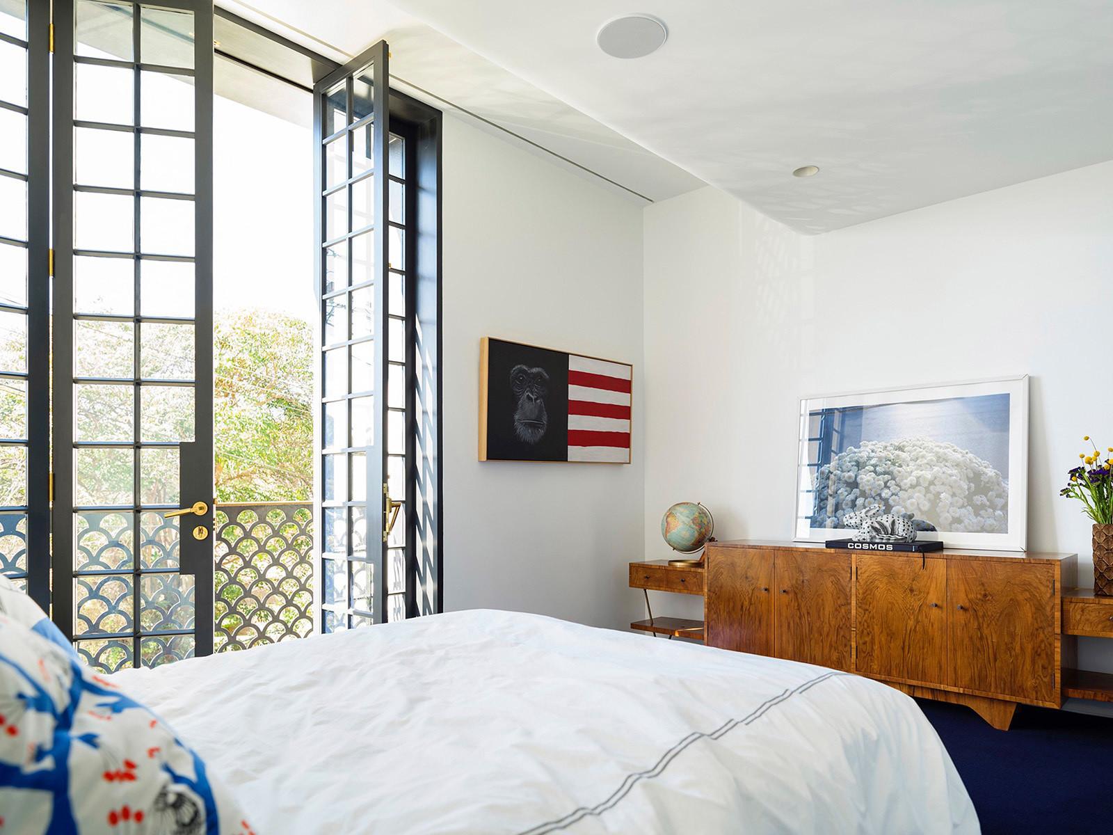 Дизайн и интерьер таунхауса в Сиднее