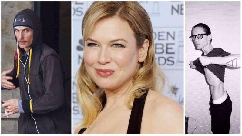 Как менялись в весе актеры Голливуда для съемок