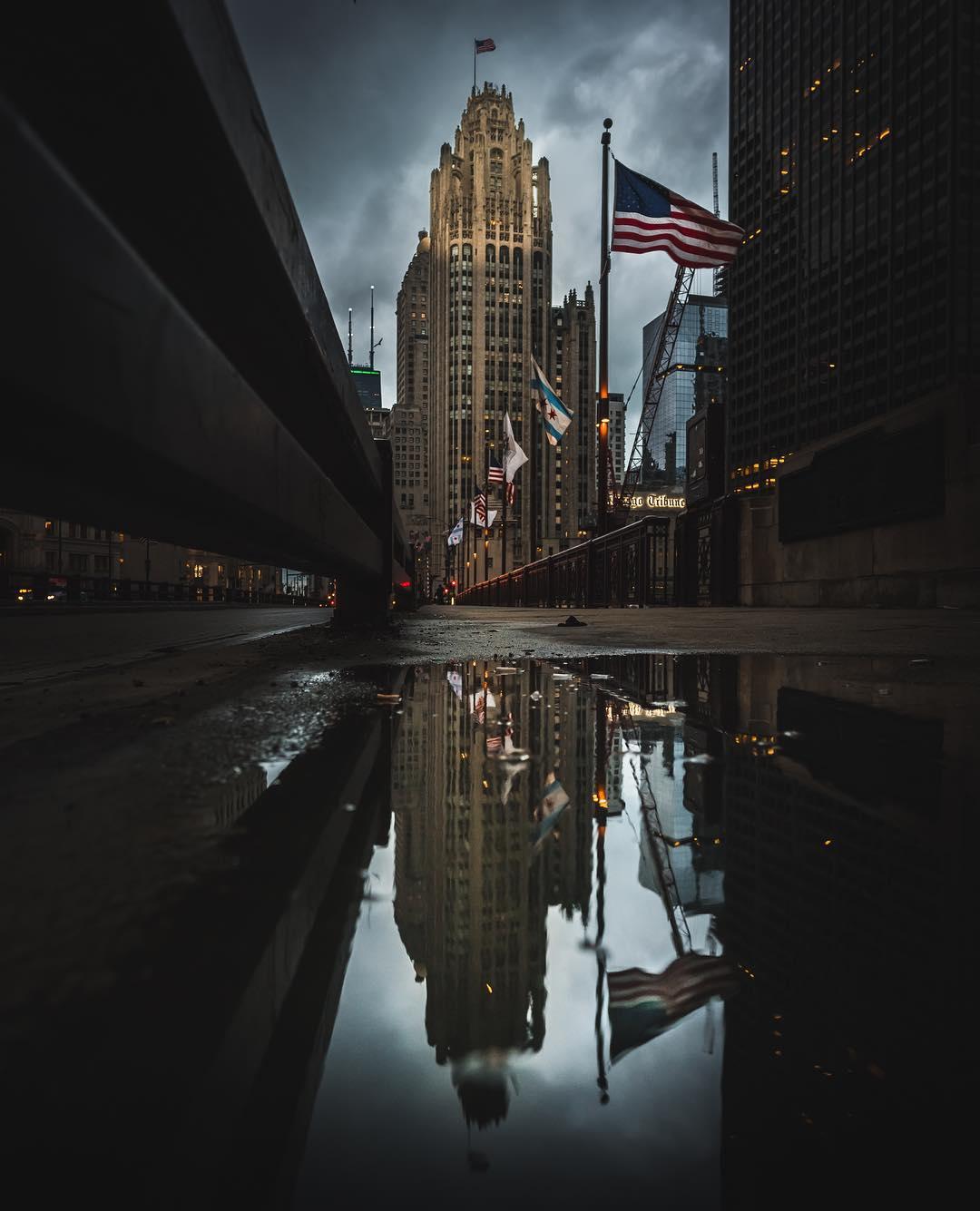 Впечатляющие городские пейзажи от Майка Майерса