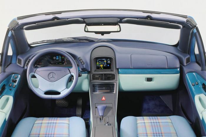 Mercedes со сменными кузовами