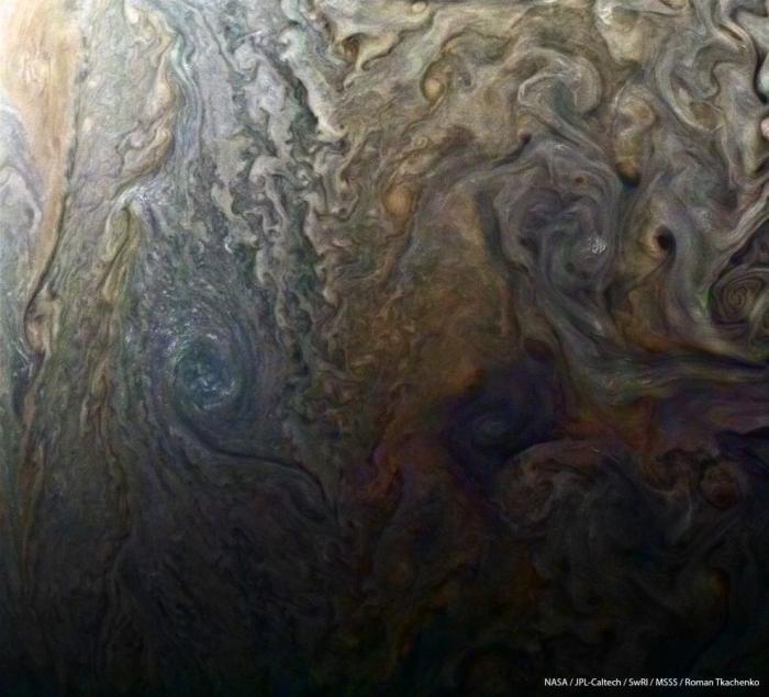 Юпитер в объективе Юноны