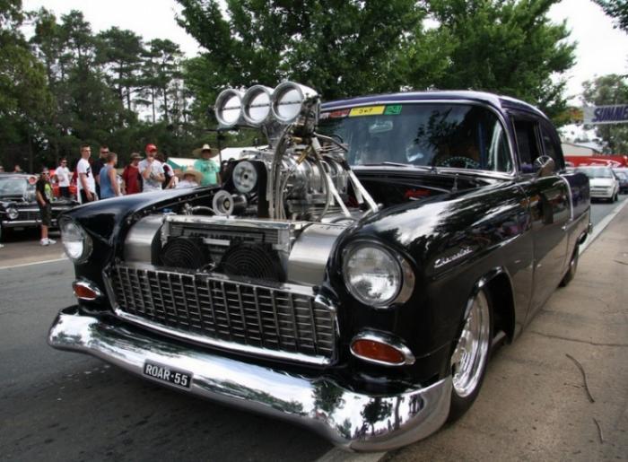 Фестиваль автомобилей Summernats