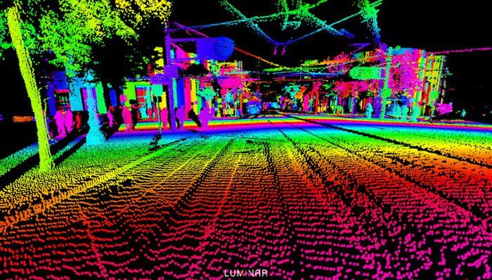 Как видят окружающий мир беспилотные автомобили