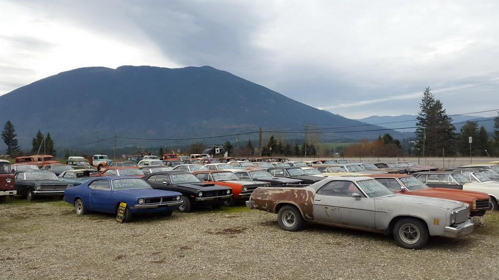Канадец продает коллекцию из 340 раритетных автомобилей