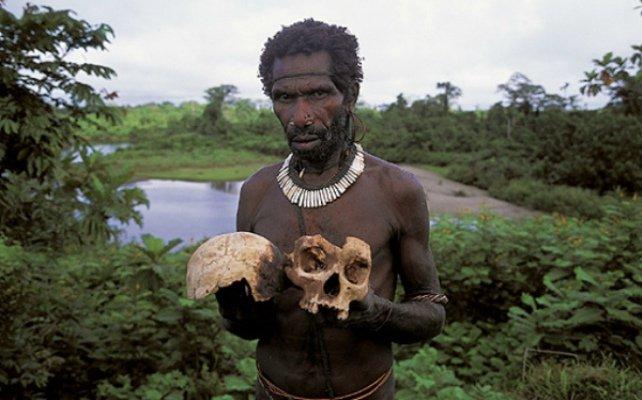Каннибализм в наши дни у разных народностей мира