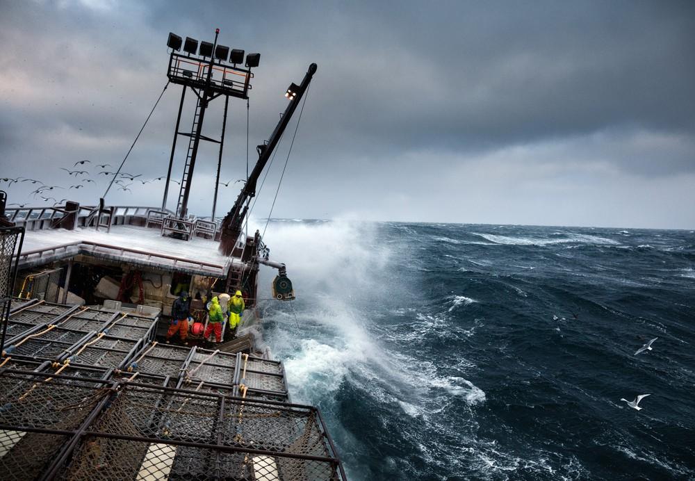 Жизнь рыбаков Аляски