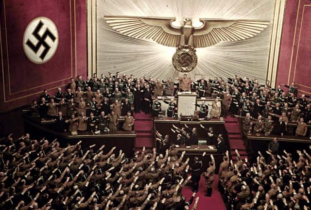 Нацистская Германия на цветных снимках