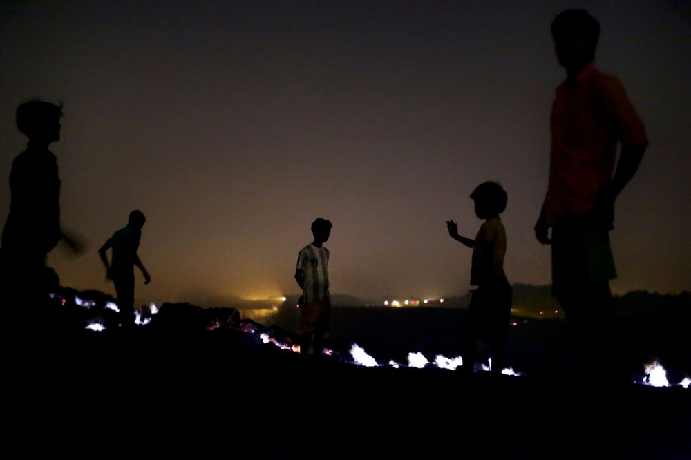 Добыча угля в Индии