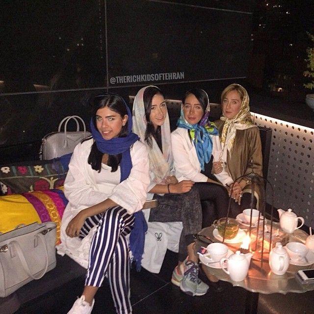 Красивая жизнь золотой молодежи Тегерана