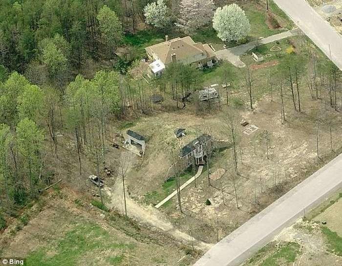 Чтобы сэкономить на отоплении, американец построил дом под землей