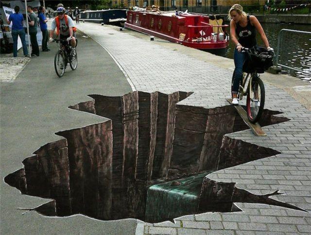 Впечатляющие уличные рисунки со всего мира