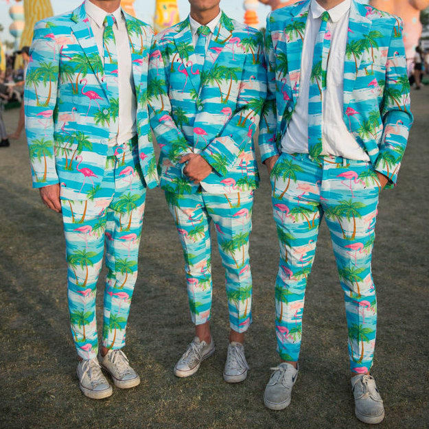 Безумные наряды гостей фестиваля Коачелла-2017