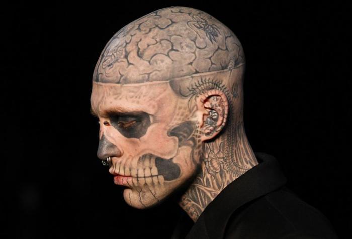 Многообразие татуировок