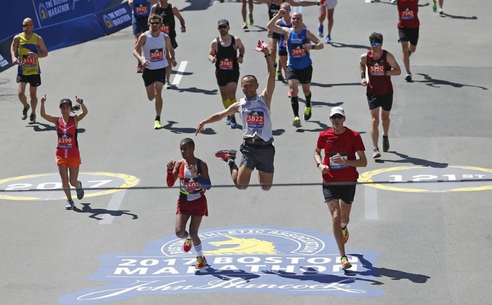 Как проходил Бостонский марафон 2017