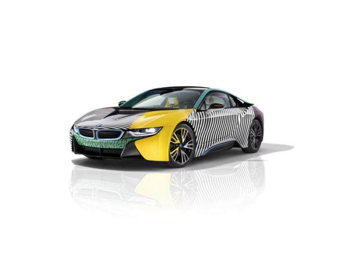 Особые BMW i3 и i8 посвятили дизайнерам мебели - Zefirka