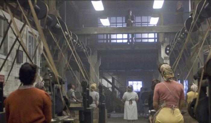 На съемках Загадочной истории Бенджамина Баттона
