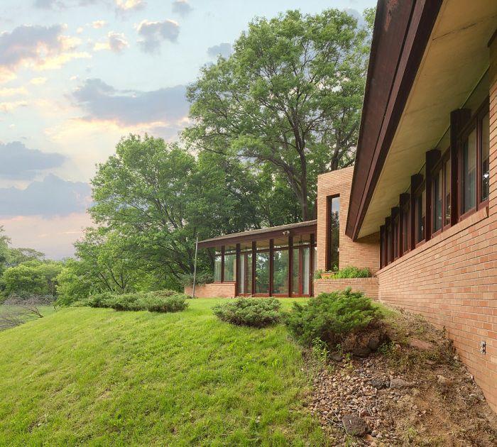 Уникальный дом, построенный архитектором Фрэнком Райтом