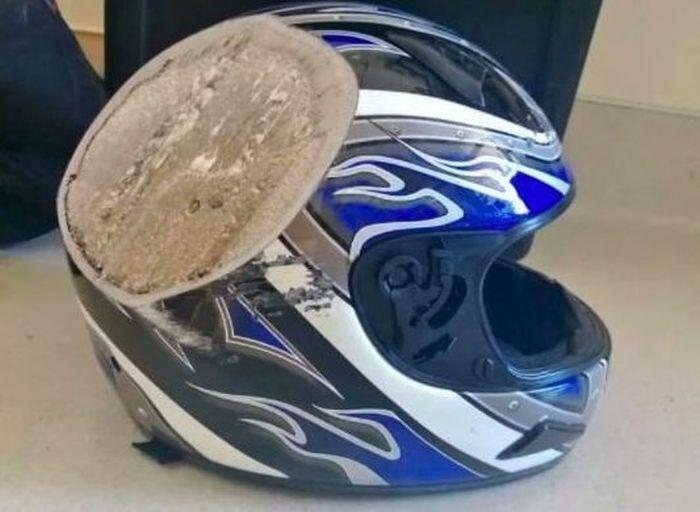 Почему шлем так необходим мотоциклисту или велосипедисту