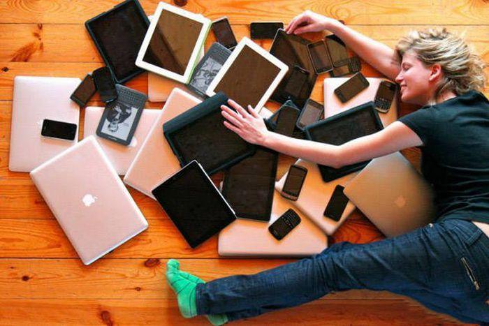 Смартфоны и другие гаджеты в современном обществе