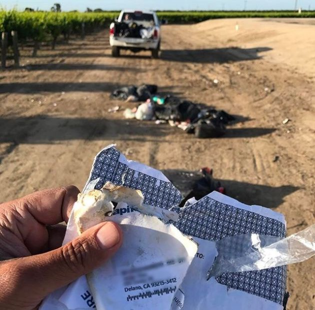 Месть любителю выбрасывать мусор в неположенных местах
