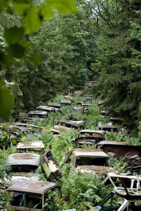 Загадочные снимки заброшенных мест
