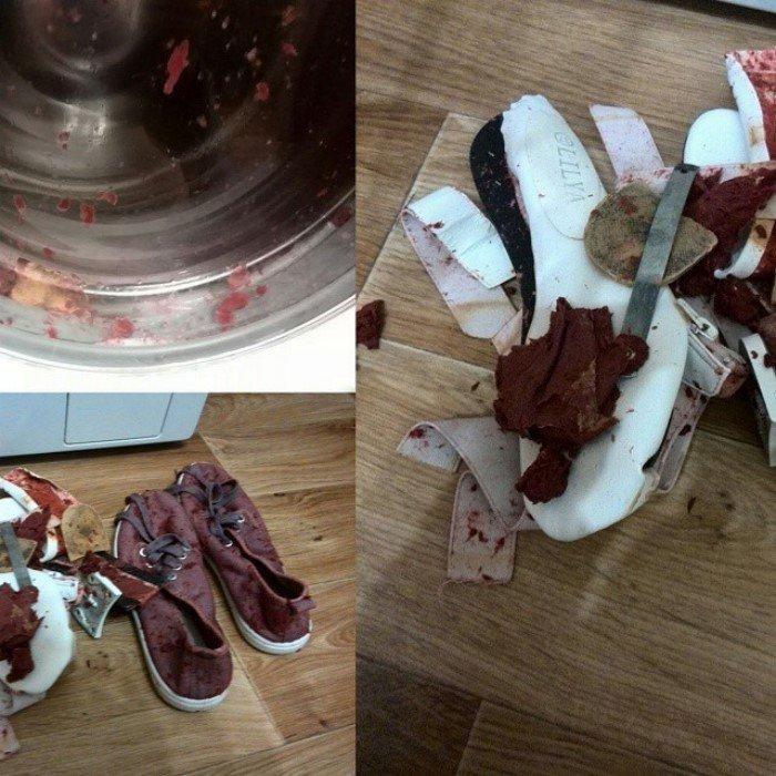 Что-то пошло не так в стиральной машине