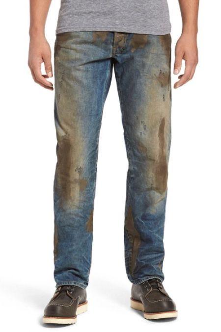 Дизайнерские грязные джинсы за 425 долларов