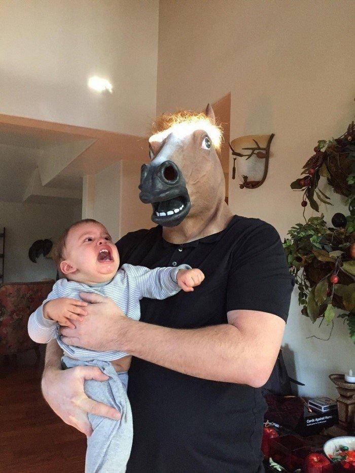 Когда у родителей есть чувство юмора
