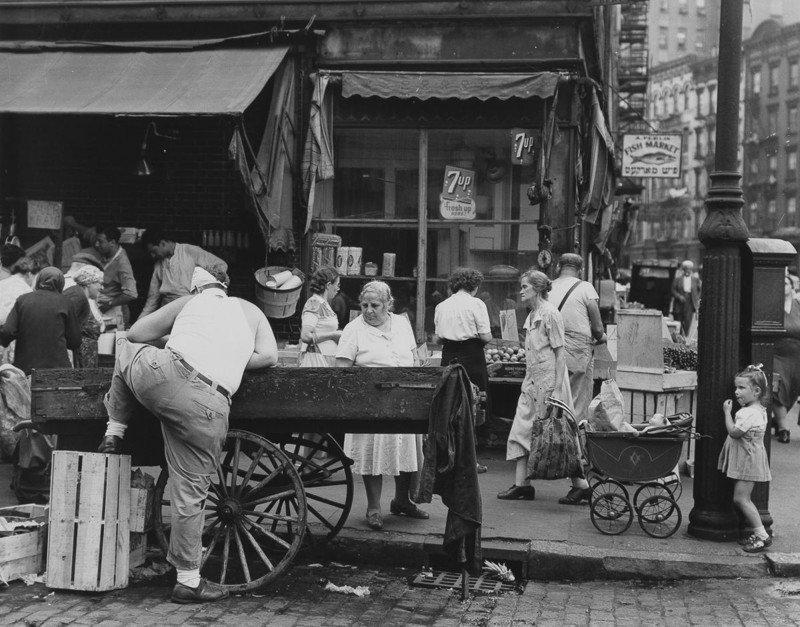 Атмосфера Нью-Йорка, 1946 год