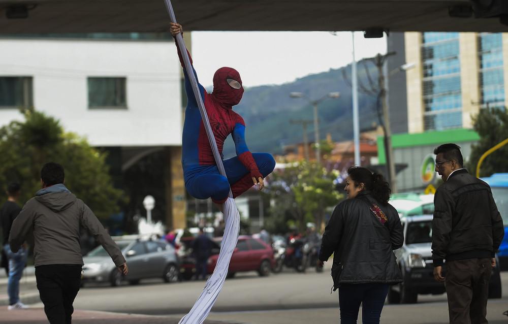 Колумбийский Человек-Паук