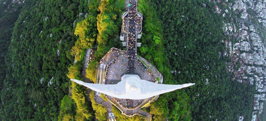 Лучшие фотографии с высоты из сети Dronestagram