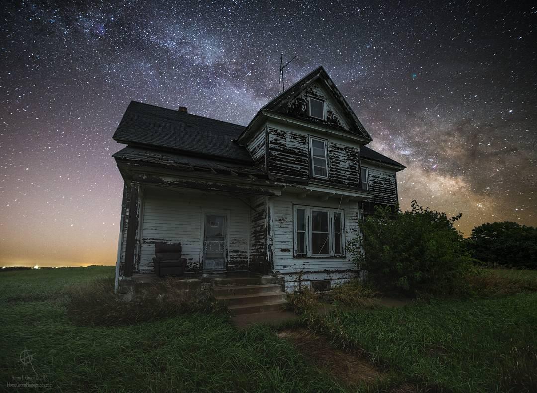 Пейзажи и астрофотографии от Аарона Джей Гроэна