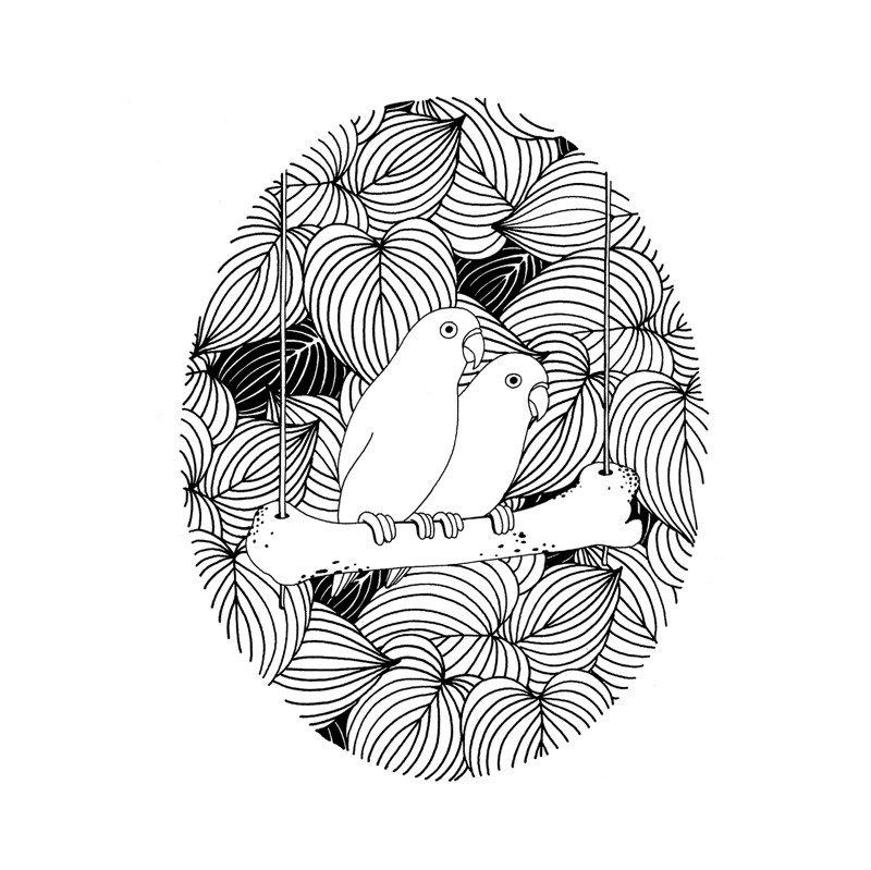 Минималистичные и безумные рисунки от Mrzyk & Moriceau