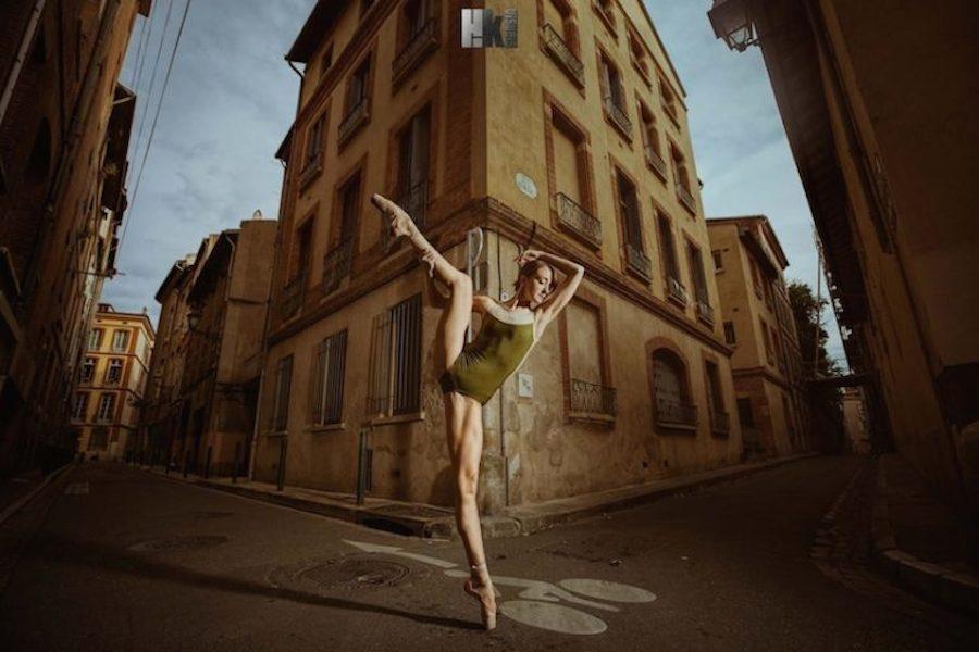 Застывшие в танце: серия фотографий Haze Kware