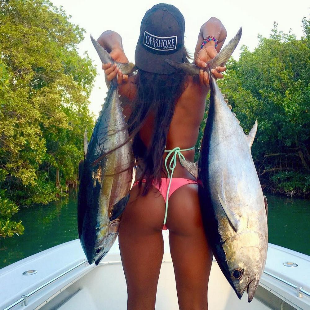Осеннего, смешные картинки с девушками на рыбалке