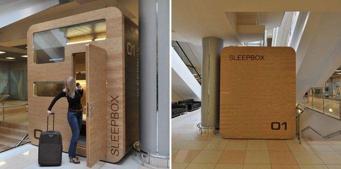 Кабина для отдыха Sleepbox