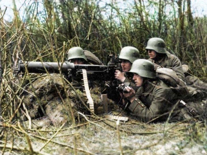 Оружие германской армии в Первой мировой войне