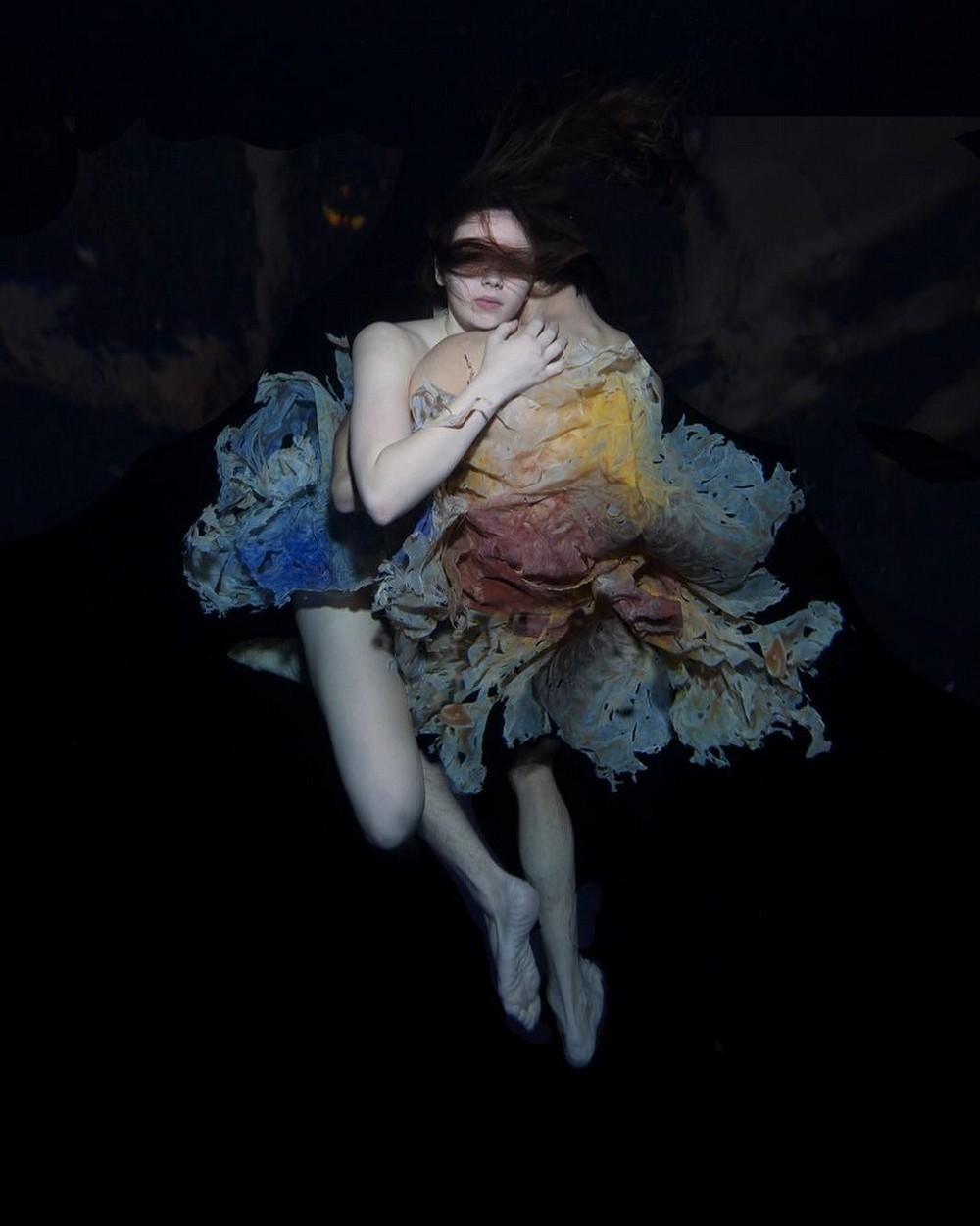 Женские образы на подводных снимках Габриэле Виртель