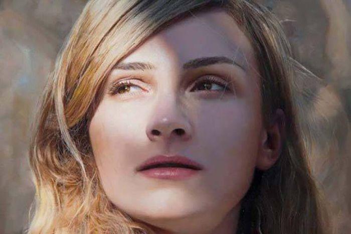 Необычные портреты красивых женщин