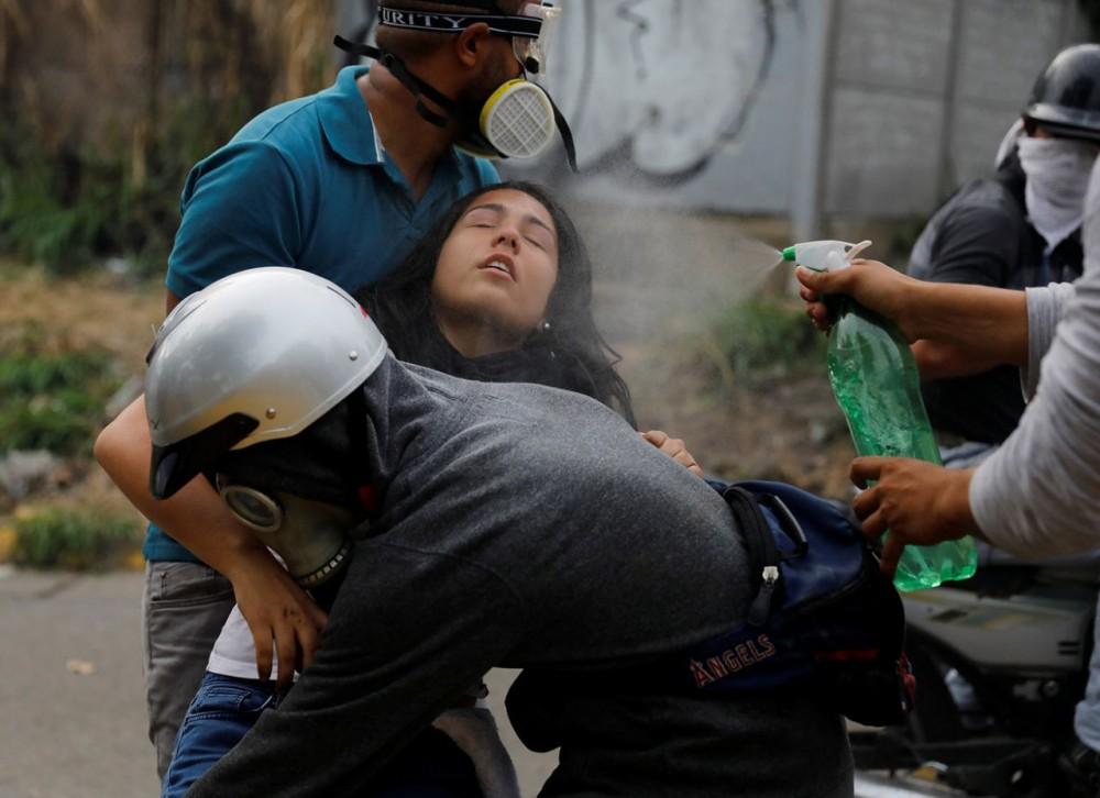 Беспорядки в городах Венесуэлы