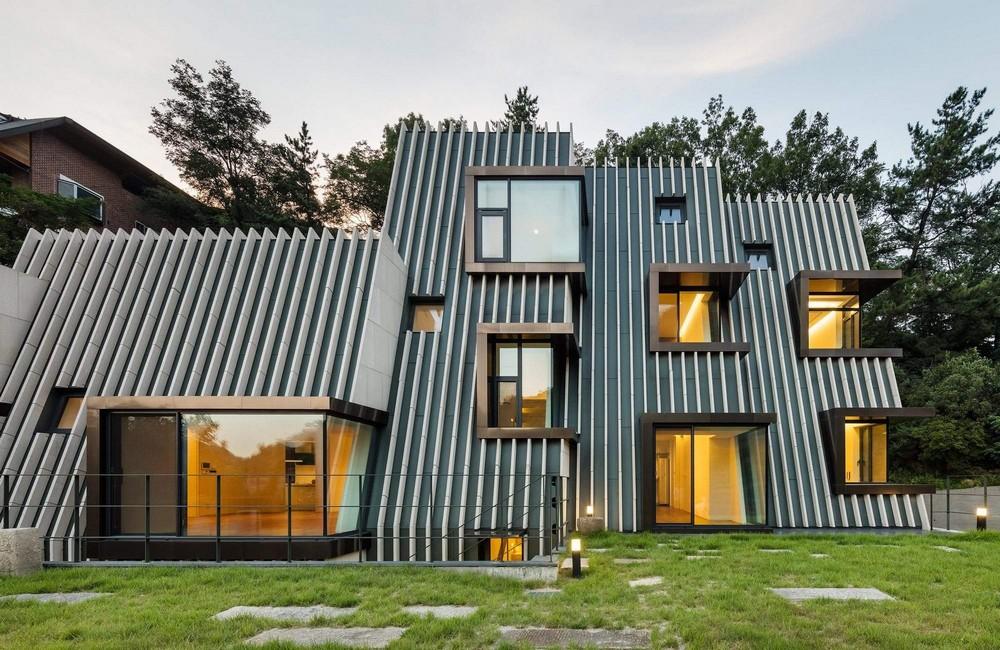 Инновационный дом в Южной Корее