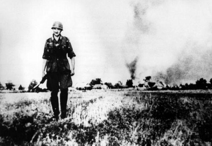 Снимки первых недель Великой Отечественной войны