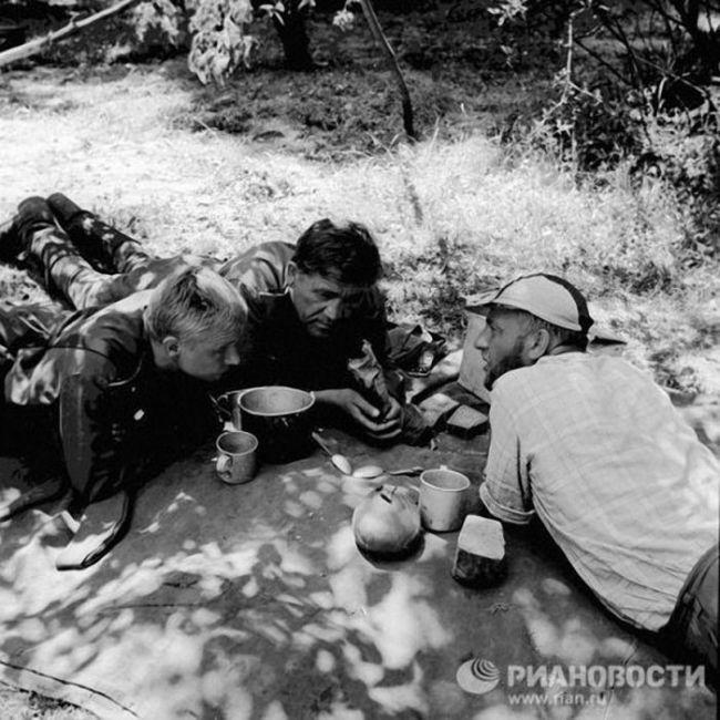 На съёмочных площадках известных фильмов о войне